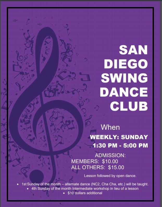 San Diego Swing Dance Club