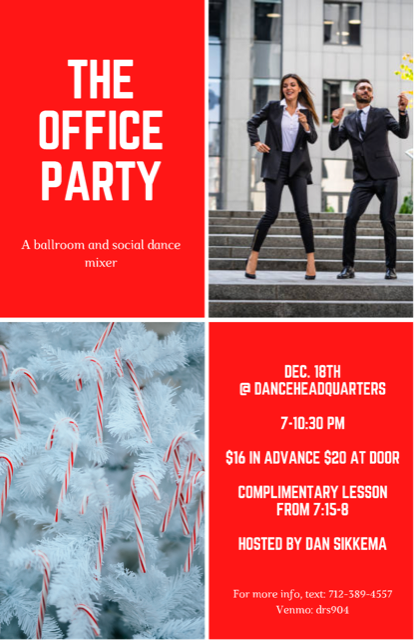 The Office Party: Social, Ballroom & Club Dancing