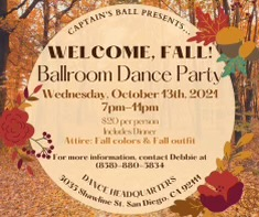 Captain's Ball presents Welcome To Fall